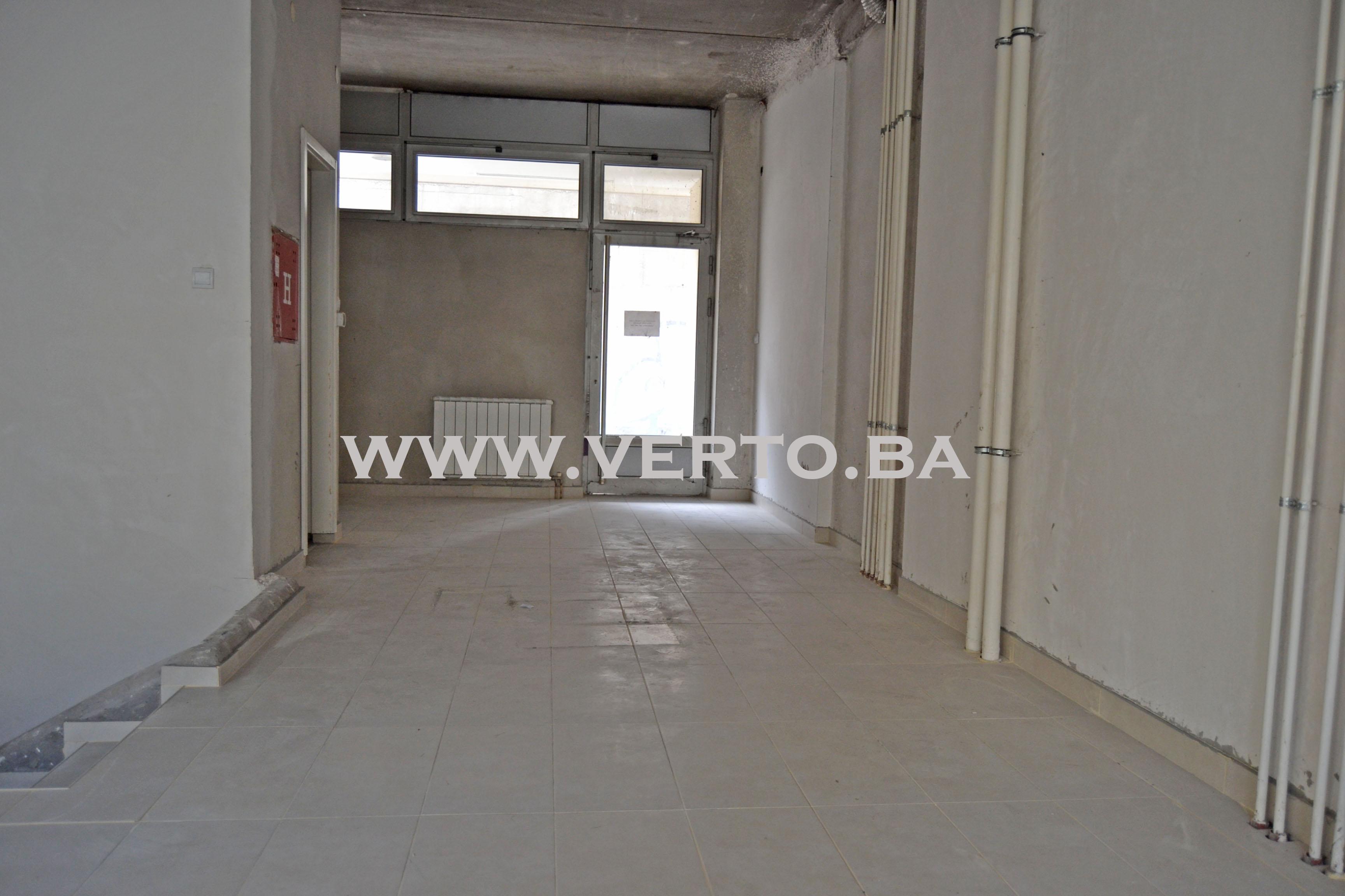Poslovni prostor površine 104 m2, centar Grada Tuzla