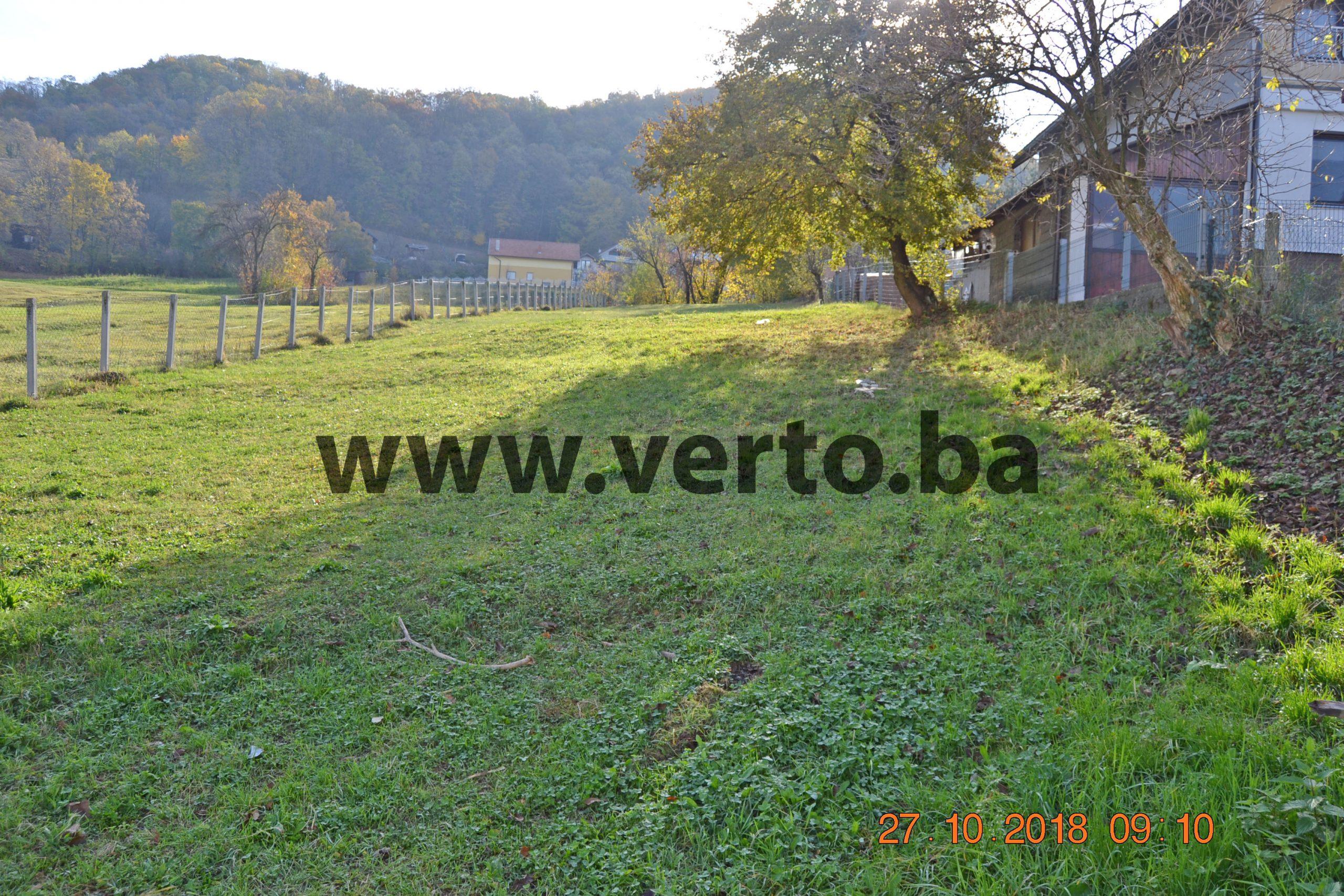 Zemljiste  1197 m2 u naselju Mala Solina, Tuzla