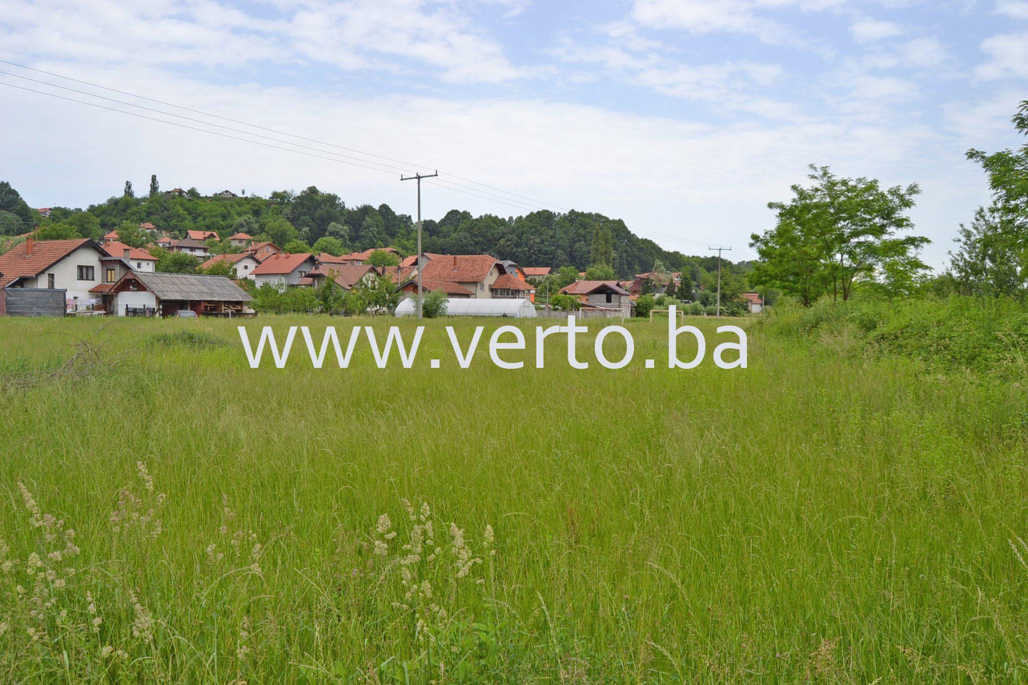 Zemljisna parcela 3284 m2, Mihatovici, Tuzla