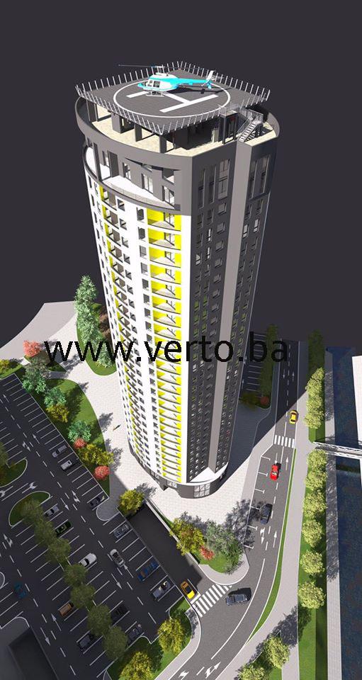 "STAN 39,67 m2 ""TOWER TUZLA"", STUPINE, TUZLA"