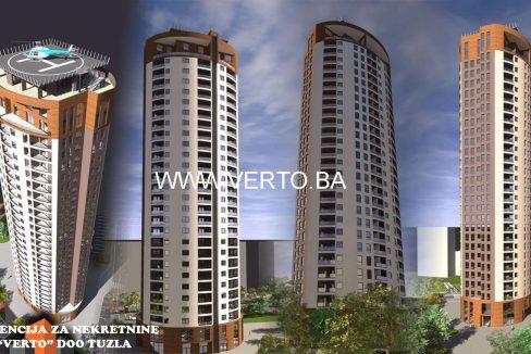 stan tuzla - novogradnja - prodaja - centar - stupine - tuzla tower - nekretnine verto - agencija